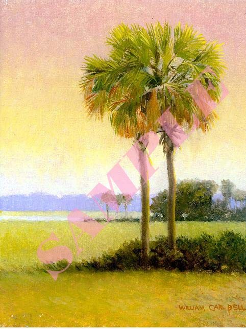 Palmetto Marsh by William Carl Bell