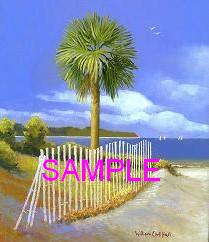 The Palmetto Tree by William Carl Bell