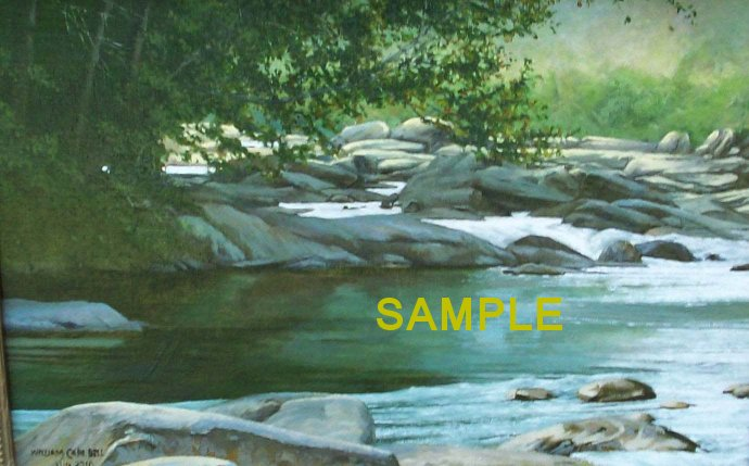 Saluda River by William Carl Bell
