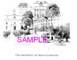 The University of South Carolina by William Carl Bell