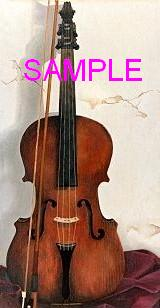 Violin by William Carl Bell