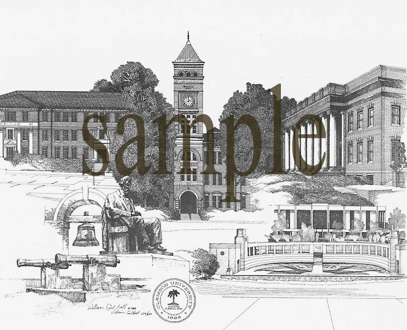 Clemson University by William Carl Bell